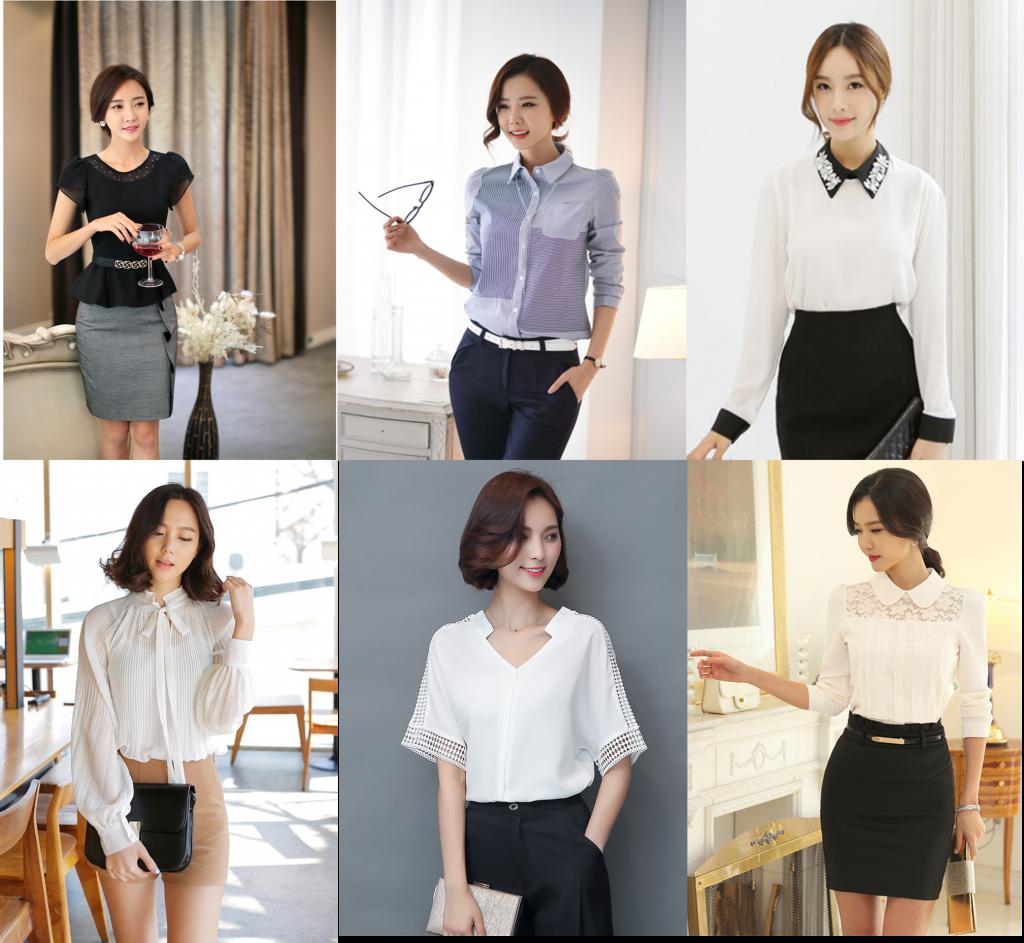 Những mẫu đồng phục công sở hiện đại, thời trang