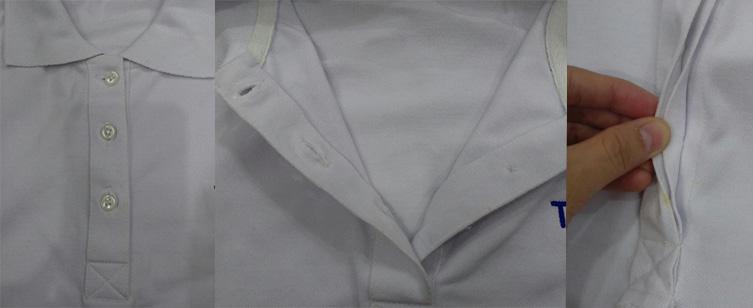 Áo thun đồng phục có cổ cao cấp tại Gò Vấp