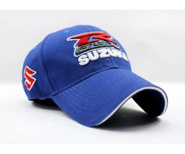 Mẫu nón kết đồng phục Suzuki màu xanh biển