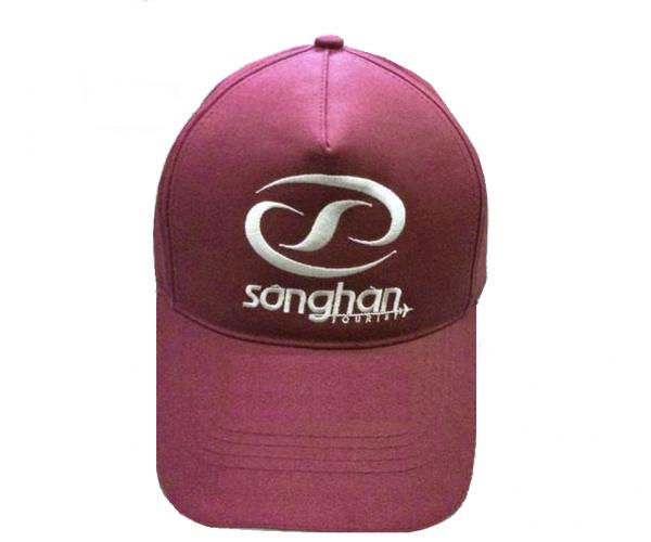 Mẫu nón kết đồng phục dành cho công ty quảng cáo màu đỏ huyết