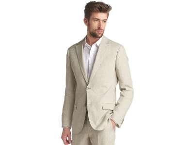 Mẫu áo vest nam công sở màu be