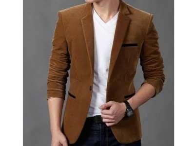Mẫu áo vest nam công sở màu nâu da bò